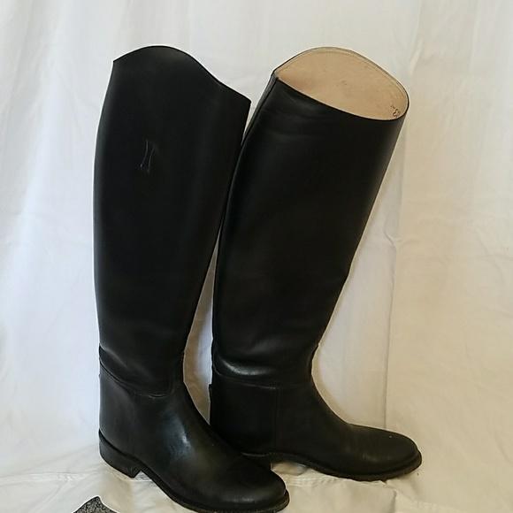 99094b9f8050e vintage equestrian riding boots Effingham black 7